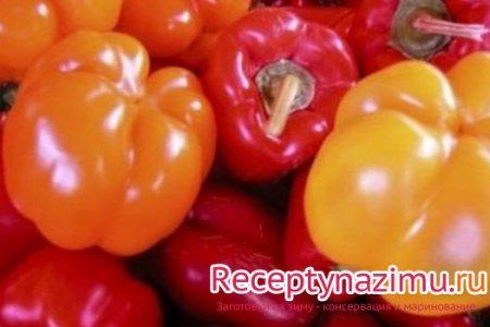рецепты заготовок салаты из сладкого перца