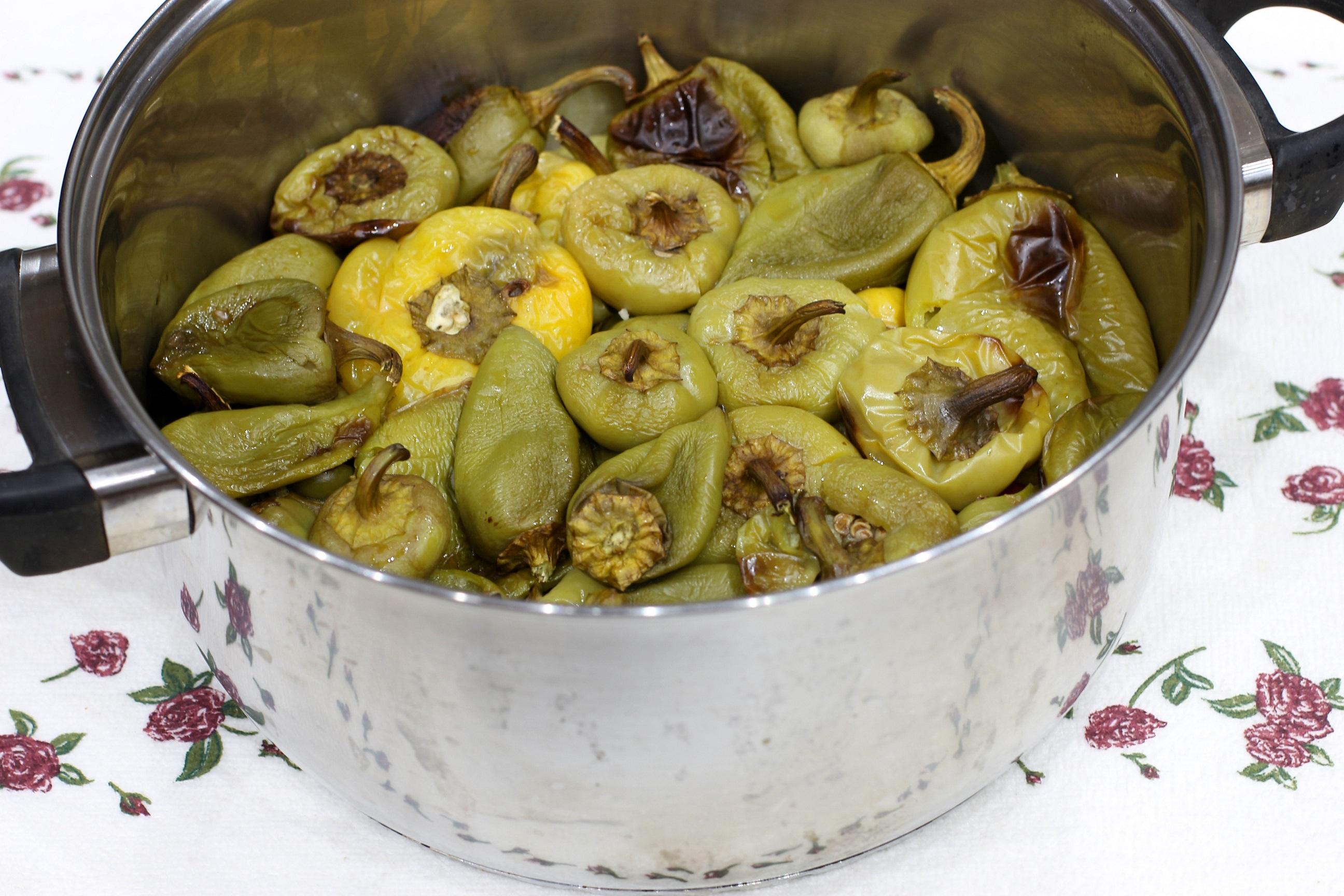 Маринованный перец с капустой рецепт