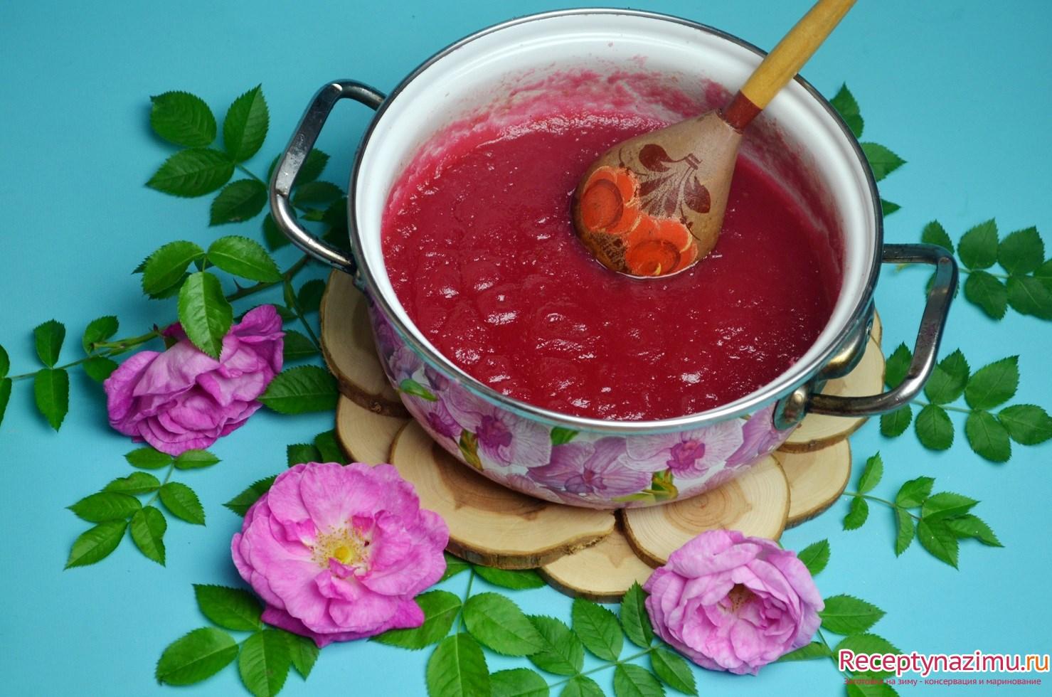 Варенье из роз Рецепты варенья из роз. Заготовки на зиму