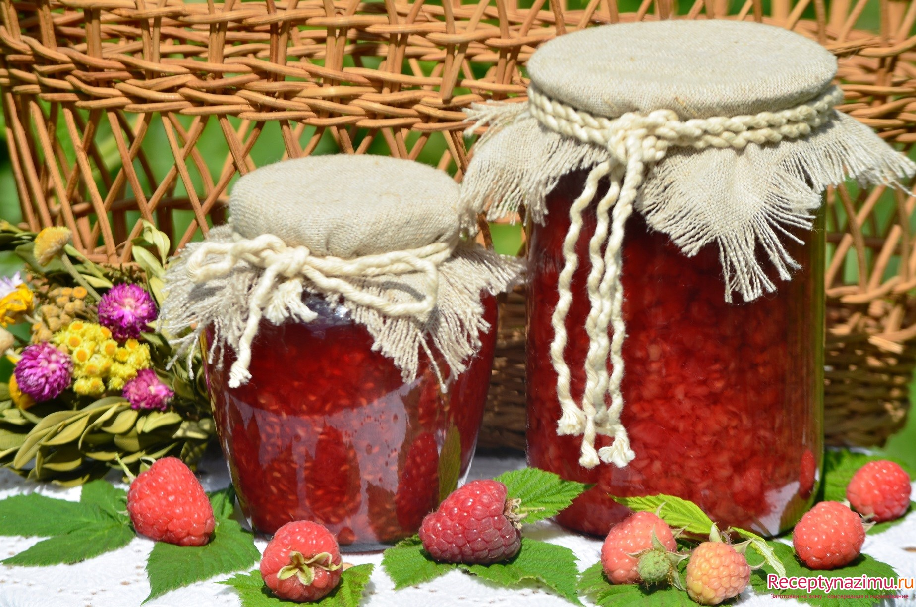 Как варить малиновое варенье на зиму рецепт пошагово в