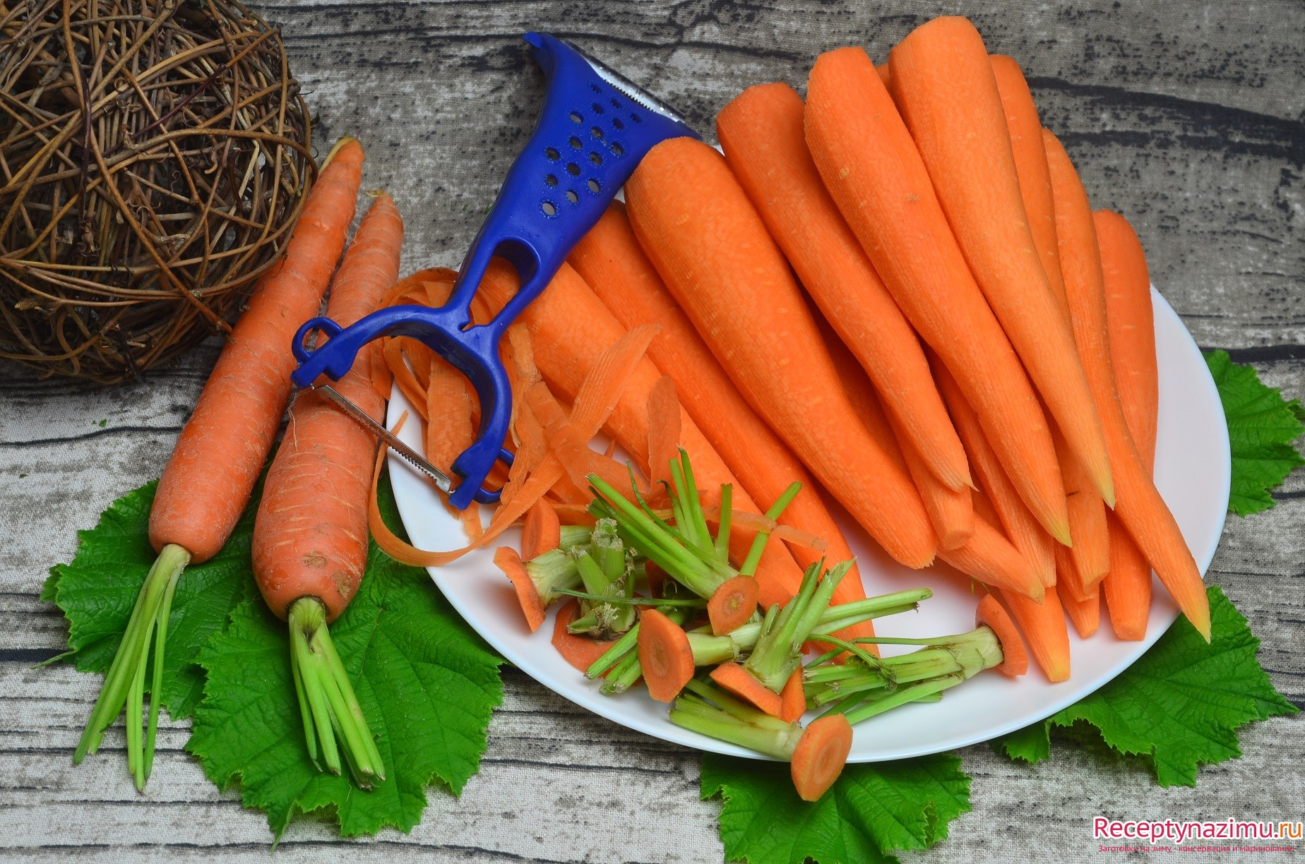 простой рецепт салат капуста морковь