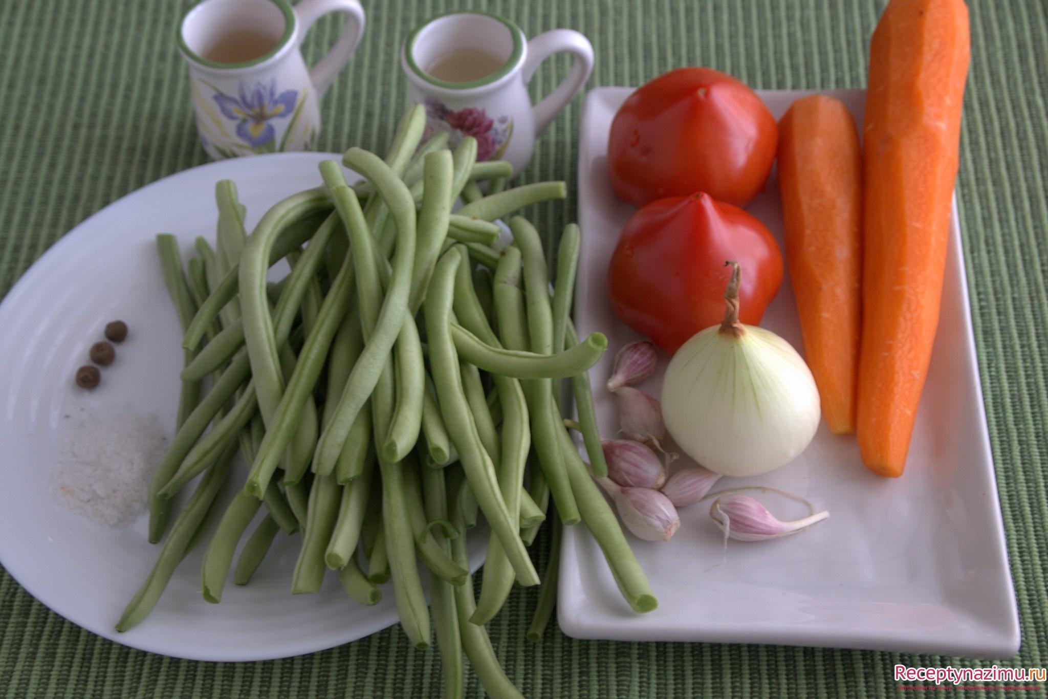 Фасоль рецепты пошаговое фото