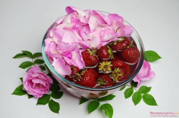 рецепты варенья розы фото