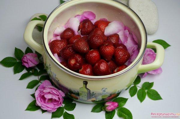 Варенье из лепестков роз рецепт с фото