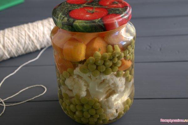 Консервирование цветной капусты рецепты с фото