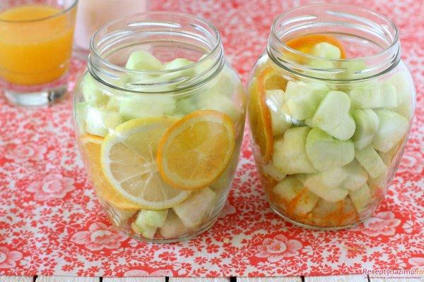 Рецепт кабачков на зиму как ананас фото