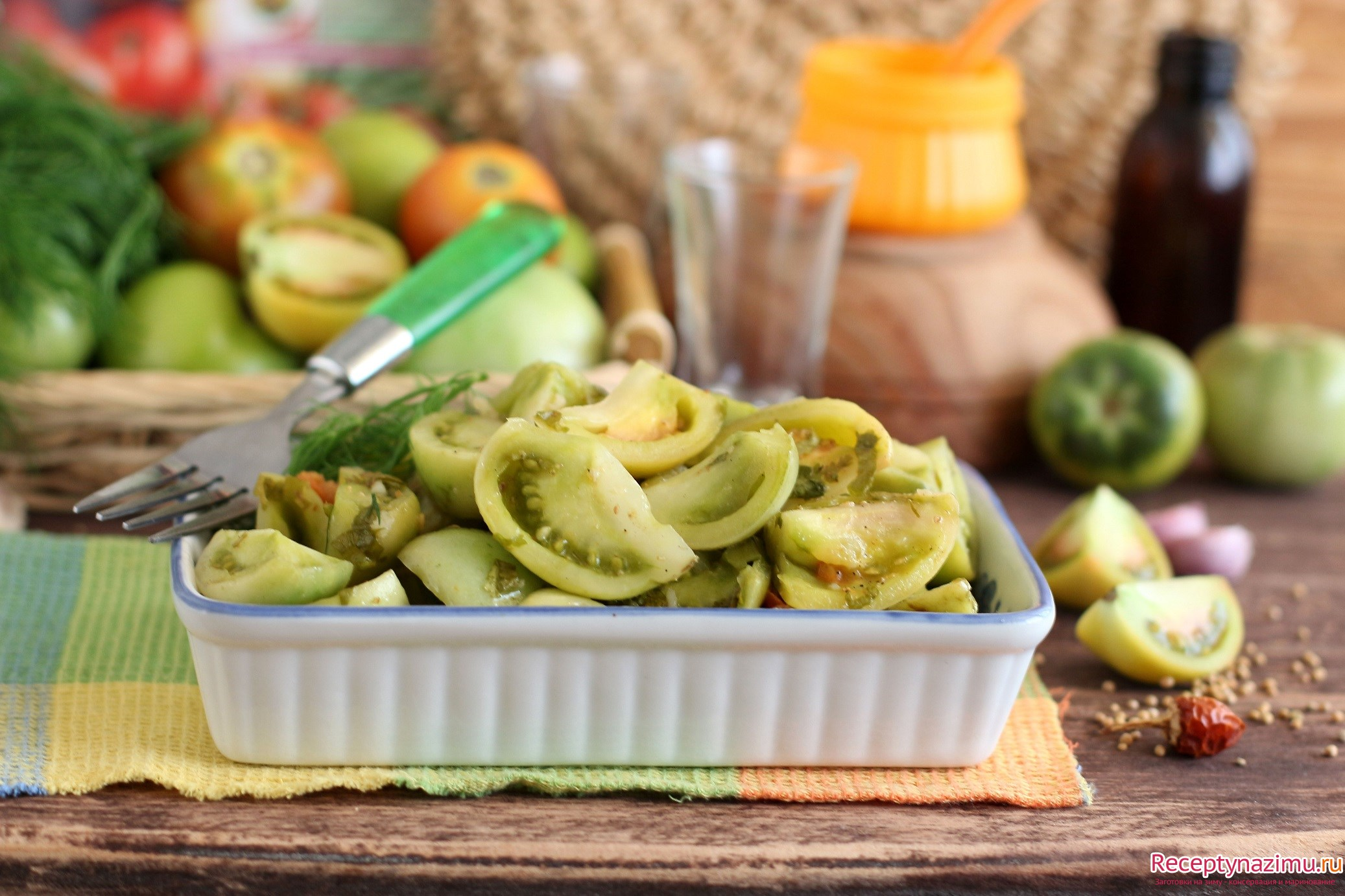 Картинки по запросу Зеленые соленые помидоры, рецепты