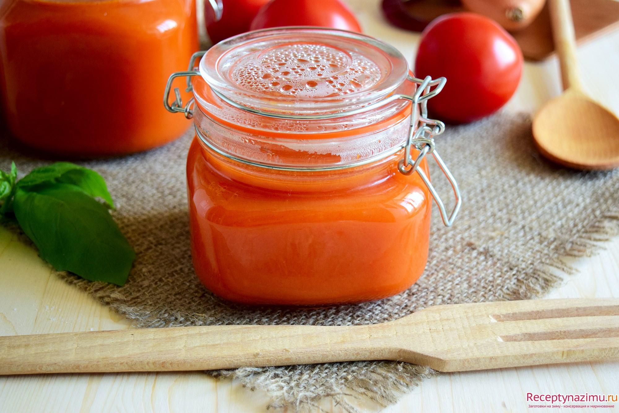 Кетчуп в домашних условиях на зиму рецепт ребенку